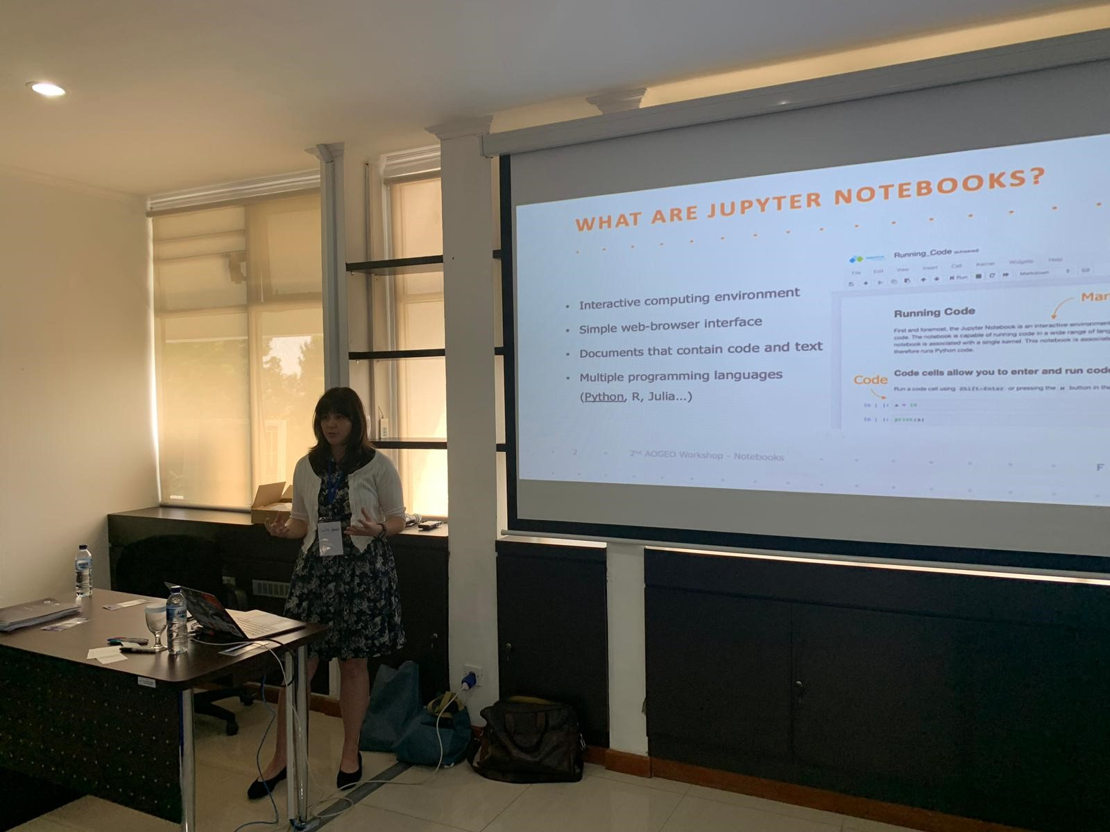 FrontierSI-Caitlin-presenting-Jakarta