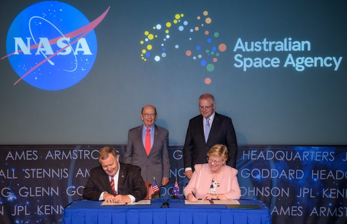 Australian Space agency and NASA SSI